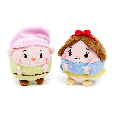 Snow White and Dopey Mini Ufufy Soft Toy Set