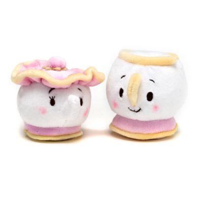 Chip and Mrs Potts Mini Ufufy Soft Toy Set