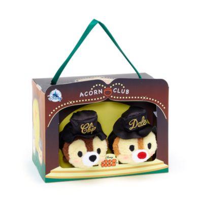 Ensemble de mini peluches Tsum Tsum Tic et Tac,75e anniversaire