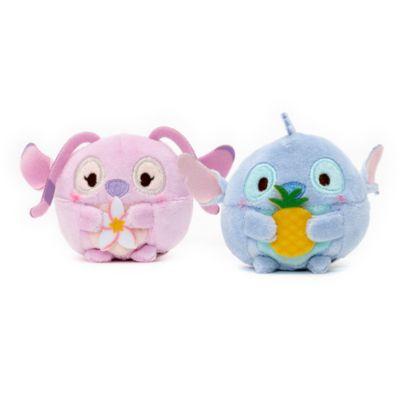 Stitch and Angel Mini Ufufy Soft Toy Set