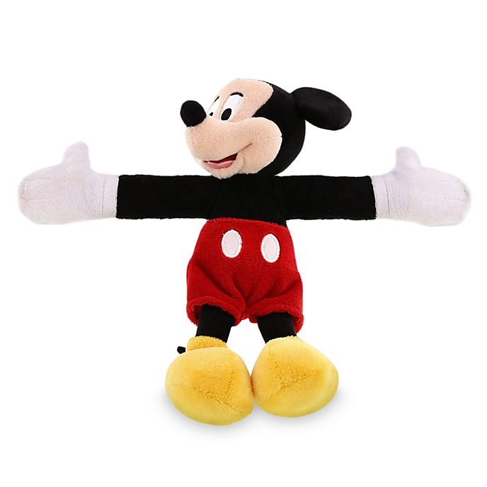 Bracelet peluche Mickey Mouse à enrouler