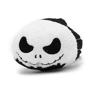 Disney Store Jack Skellington Reversible Mini Tsum Tsum Soft Toy
