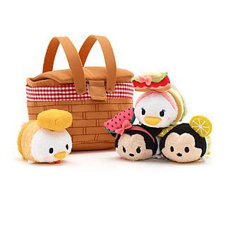 Disney Store - Micky Maus und Freunde - Disney Tsum Tsum Picknickkorb-Set