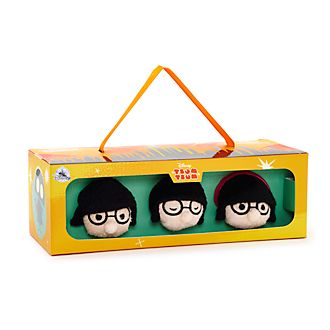Disney Store Edna Mode Mini Tsum Tsums, Set of 3