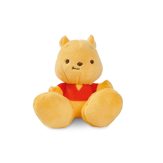 Disney Store Winnie the Pooh Tiny Big Feet Mini Soft Toy