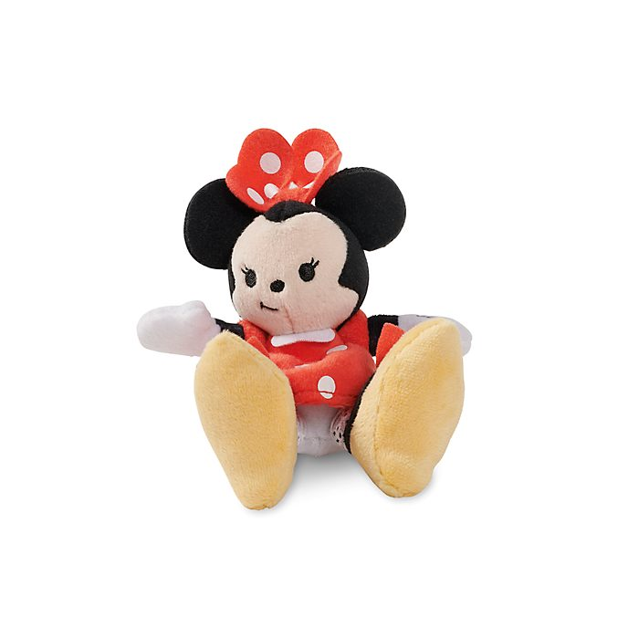 Disney Store Minnie Mouse Tiny Big Feet Mini Soft Toy