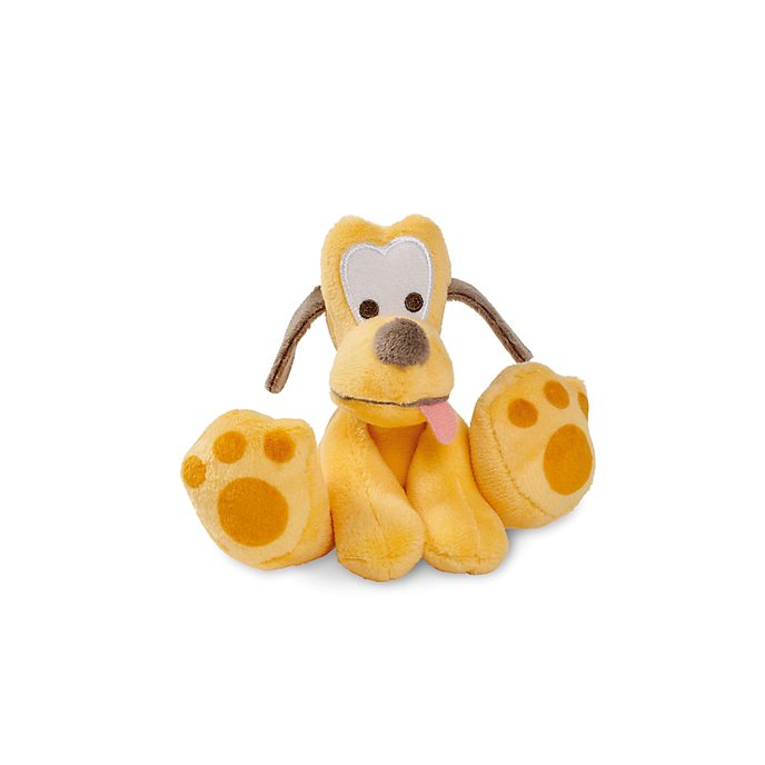 Disney Store Pluto Tiny Big Feet Mini Soft Toy