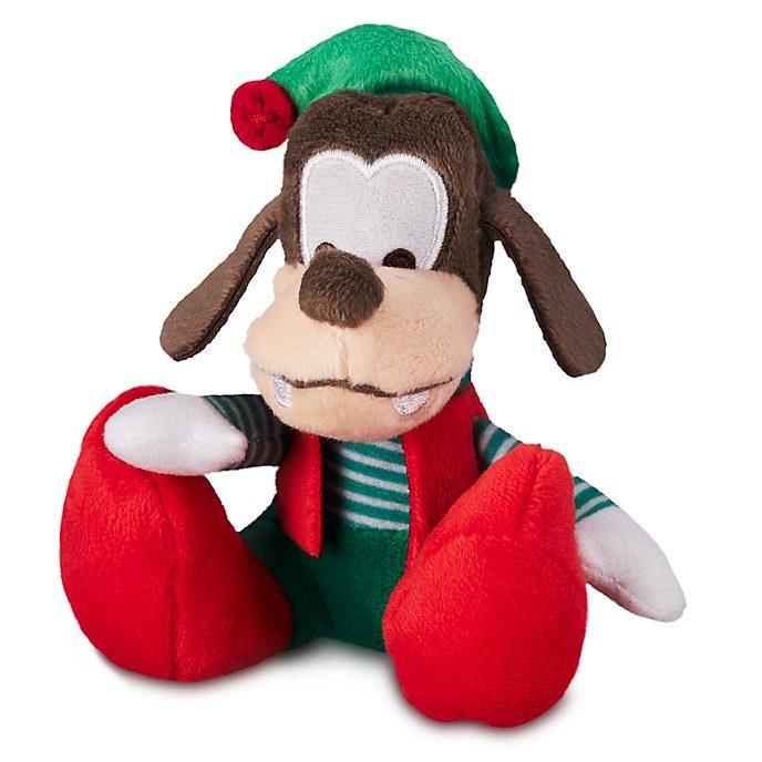 Disney Store Goofy Festive Tiny Big Feet Mini Soft Toy
