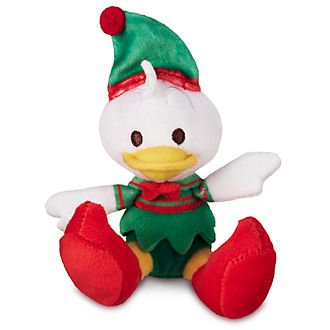 Disney Store Donald Duck Festive Tiny Big Feet Mini Soft Toy