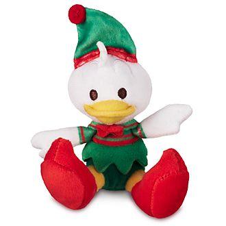Mini peluche natalizio Tiny Big Feet Paperino Disney Store