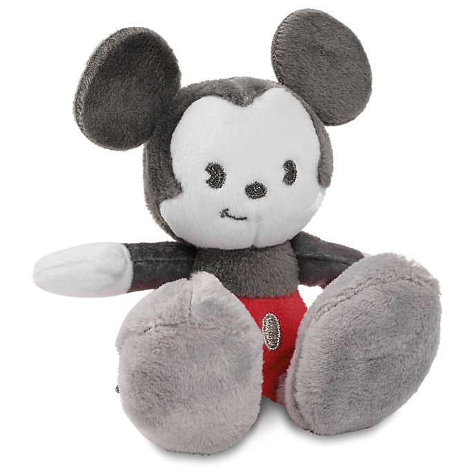 Disney Store Mickey Mouse Limited Release Tiny Big Feet Mini Soft Toy