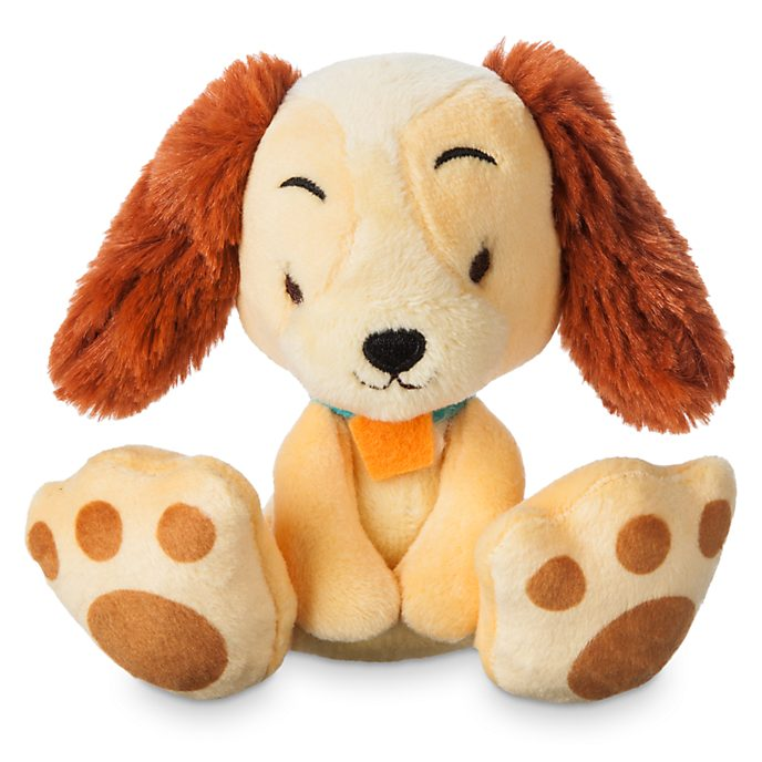 Disney Store Lady Tiny Big Feet Mini Soft Toy
