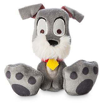 Disney Store Tramp Tiny Big Feet Mini Soft Toy
