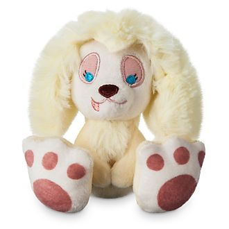 Disney Store Peluche miniature Peg, La Belle et le Clochard, Tiny Big Feet
