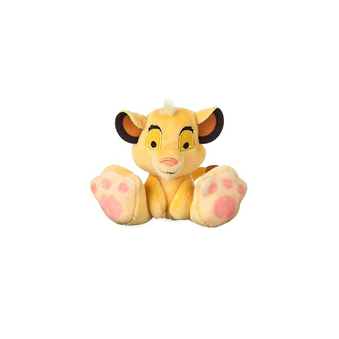 Disney Store Simba Tiny Big Feet Mini Soft Toy