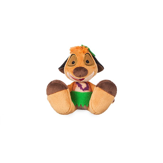 Disney Store Timon Hula Tiny Big Feet Mini Soft Toy