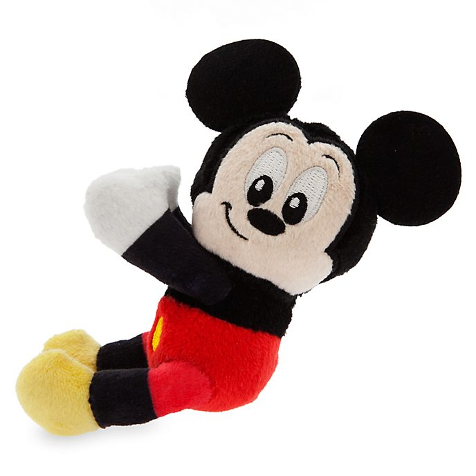 Disney Store Mickey Mouse Huggers Mini Soft Toy