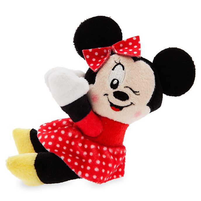 Disney Store Minnie Mouse Huggers Mini Soft Toy
