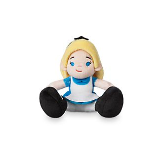 Disney Store Peluche miniature Alice au Pays des Merveilles, Tiny Big Feet
