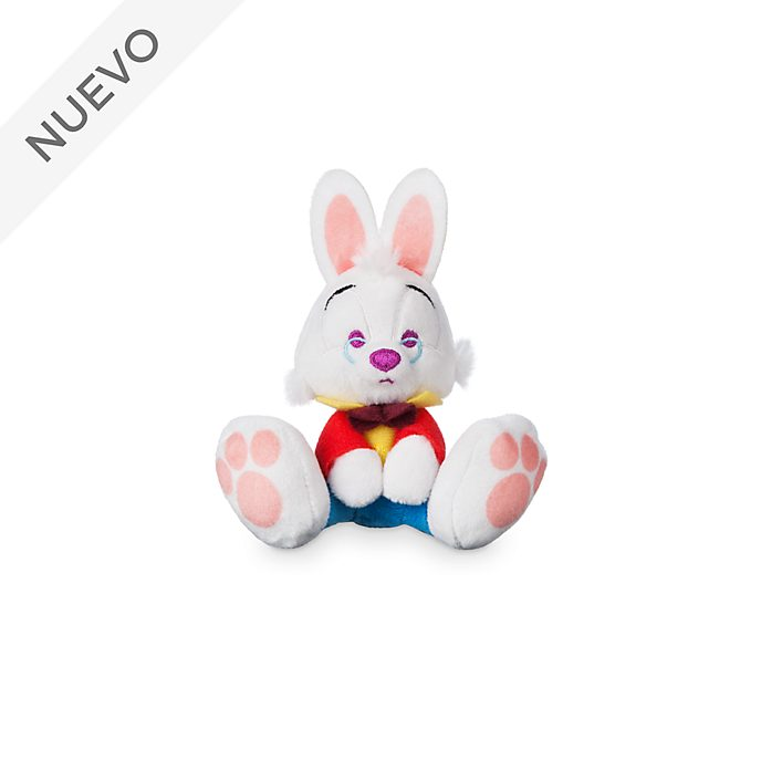 Minipeluche Conejo Blanco, Tiny Big Feet, Disney Store