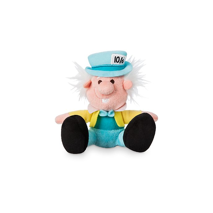 Disney Store Mad Hatter Tiny Big Feet Mini Soft Toy