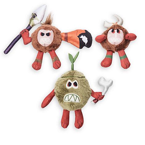 Kakamora Set of 3 Small Soft Toys, Moana