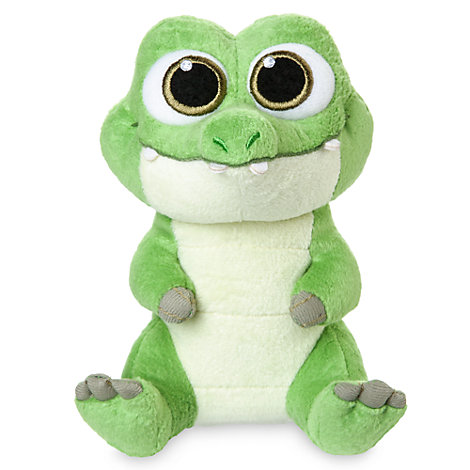 Peluche miniature Tic Tac le crocodile de la collection Disney Animators