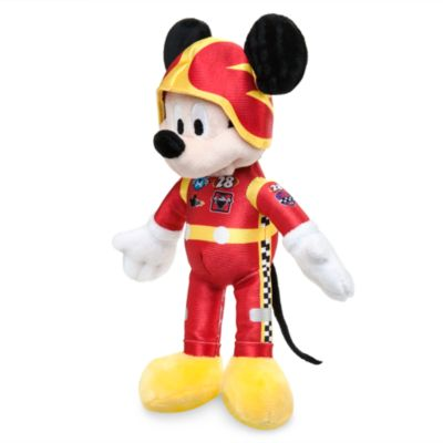 Lille Mickey Mouse Racerholdet i plys
