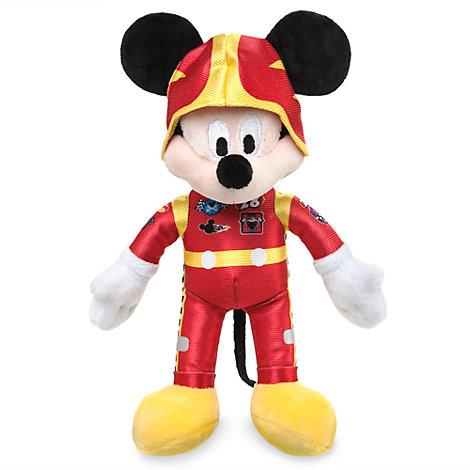 Minipeluche Mickey Mouse aventuras sobre ruedas