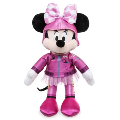 Minipeluche Minnie Mouse aventuras sobre ruedas