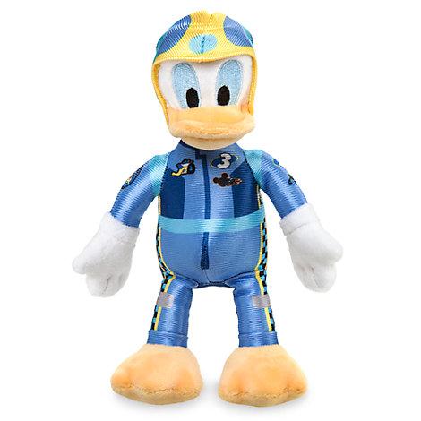 Minipeluche Pato Donald aventuras sobre ruedas