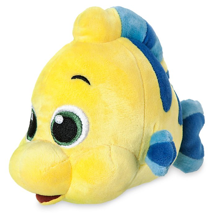 Flounder Mini Soft Toy, Animators' Collection