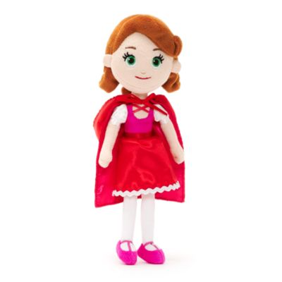 Little Red Riding Hood Mini Bean Bag Soft Toy, Goldie & Bear