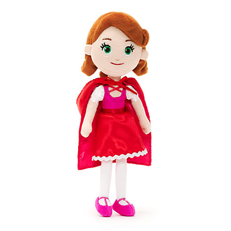 Little red riding hood mini bean bag soft toy goldie bear for Aeiou el jardin de clarilu