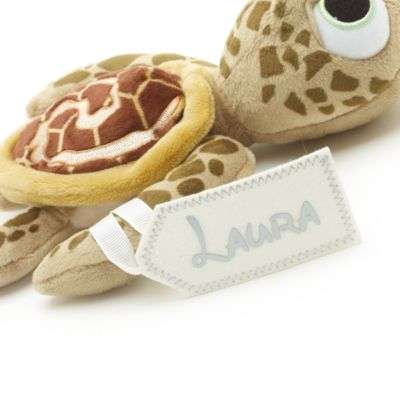 Mini peluche bébé tortue, Vaiana, Collection Disney Animators