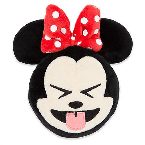 """Minnie Mouse Emoji Soft Toy - 4"""""""