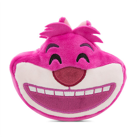 """Cheshire Cat Emoji Soft Toy - 4"""", Alice in Wonderland"""