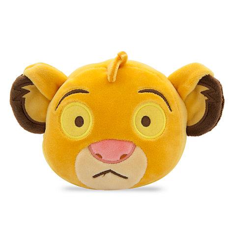 Peluche Emoji de Simba de 10cm, El Rey León