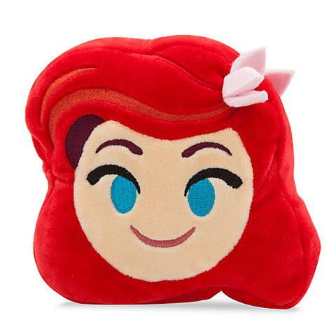 Peluche Emoji de Ariel de 10cm, de La Sirenita