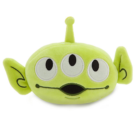 Toy Story Alien Emoji Soft Toy - 4''