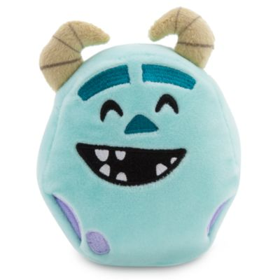 Sulley Emoji Soft Toy - 4'', Monsters, Inc.