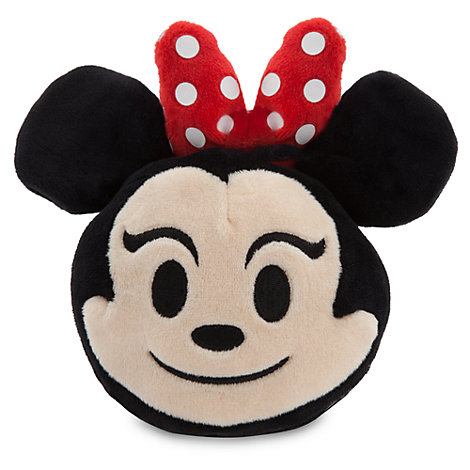 Minnie Mouse Emoji Soft Toy - 4''