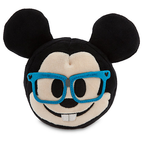 Mickey Mouse Emoji Soft Toy - 4''