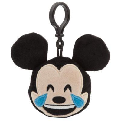Clip para mochilas de peluche emoji de Mickey Mouse de 6,35cm