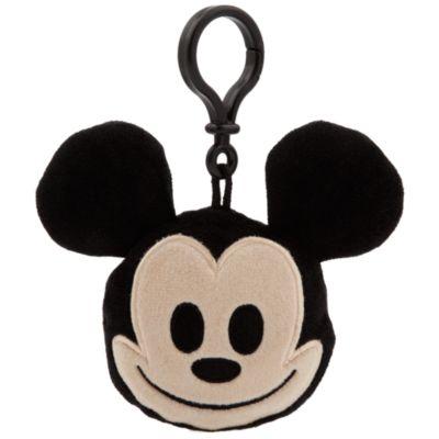 Mickey Mouse emoji plysdyr – rygsækclips på ca. 6 cm