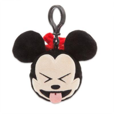 Peluche emoji 6 cm Minni con gancio