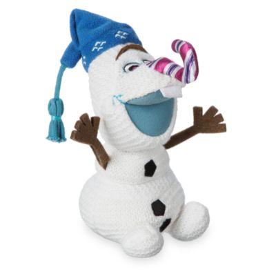 Olaf taut auf - Olaf Kuschelpuppe