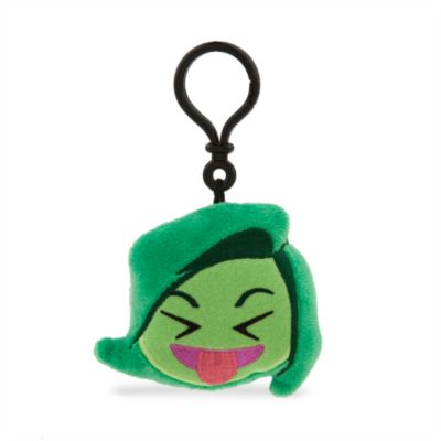 Disney Emoji Disgust Soft Key Ring, Inside Out