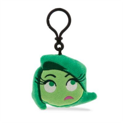 Llavero con peluche Asco, colección Disney Emoji, Del revés