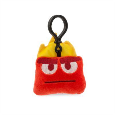 Alles steht Kopf - Disney Emoji Ärger - Schlüsselanhänger aus weichem Material